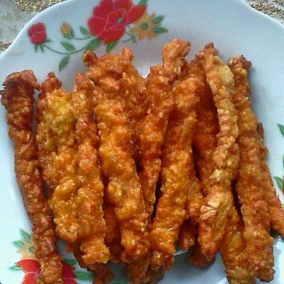家乡小吃——不一样的红薯条吃法(你吃过吗)