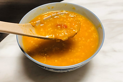 教你熬浓稠的南瓜小米粥