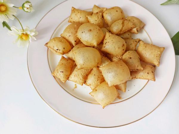 低脂无油 网红小零食、咔滋咔滋烤豆皮的做法