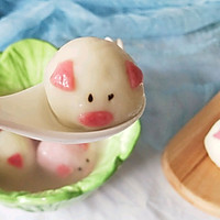#元宵节美食大赏#猪猪黑芝麻汤圆的做法图解18