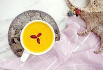 #我为奥运出食力# 牛奶南瓜浓汤的做法