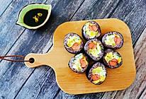 教你做零难度,好吃漂亮还简单的寿司卷的做法