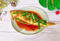 ㊙️鱼这样做减脂又美味--黄油酱汁清蒸黄花鱼的做法