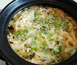 榨菜肉丝鸡蛋汤的做法