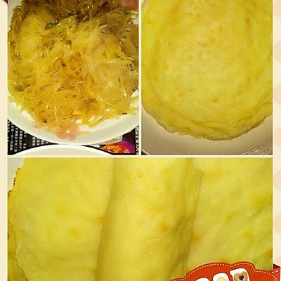 土豆丝卷煎饼