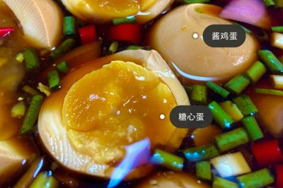 酱鸡蛋夏天吃凉拌的比较胃口