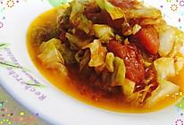 酸甜有味-西红柿炒卷心菜的做法