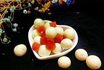 日式牛乳山楂球的做法