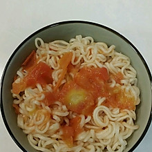 西红柿汁拌面
