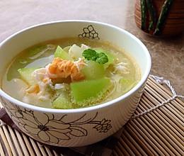 丝瓜节瓜咸蛋汤~夏至降火例汤的做法