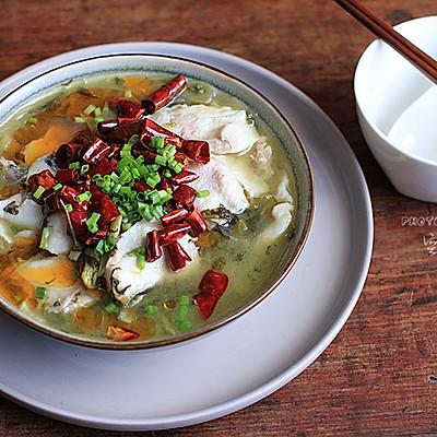 【江湖酸菜鱼】——10分钟搞定人气料理