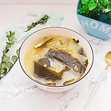 #花10分钟,做一道菜!#海带冬瓜虾皮汤
