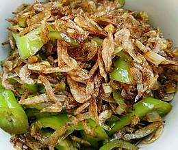 虾皮炒辣椒〜快手菜、下饭菜的做法