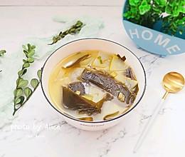#花10分钟,做一道菜!#海带冬瓜虾皮汤的做法
