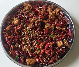 川香辣子鸡丁很辣的的做法