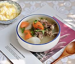 萝卜羊排骨汤#肉食者联盟#的做法