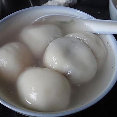 红豆沙汤圆