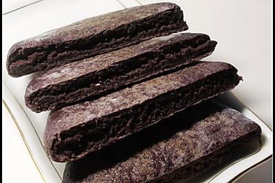 奶香黑米饼