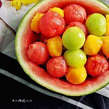 吃水果也要高逼格——自制彩球果盘
