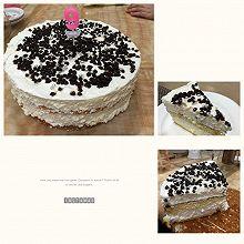 奶油巧克力豆慕斯蛋糕