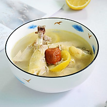 #洗手作羹汤#鲜柠檬蜜枣鸡汤