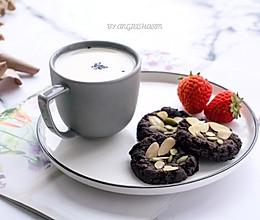 清甜香草豆浆&全麦可可黄豆软曲奇【无添油低卡零食】