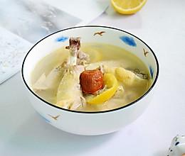 #洗手作羹汤#鲜柠檬蜜枣鸡汤的做法