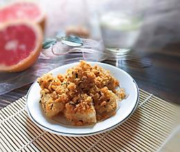 粽子的华丽变身~蛋黄肉松粽的做法
