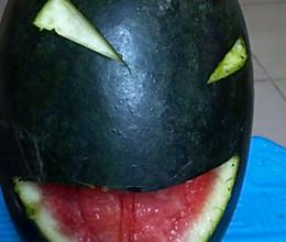 邪恶西瓜的做法