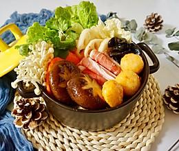 快手暖胃番茄火锅的做法
