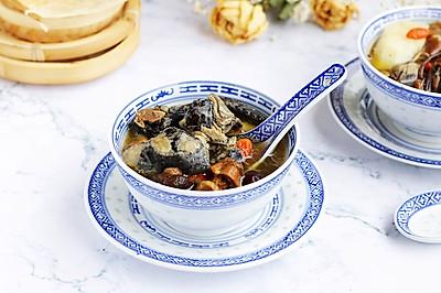 菌菇山药乌鸡汤