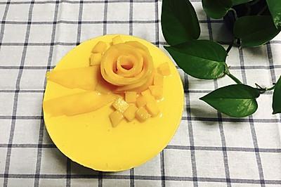 芒果奶酪慕斯--消化饼干版