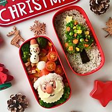 专属圣诞节的爱心便当,送给你最爱的人#今天吃什么#