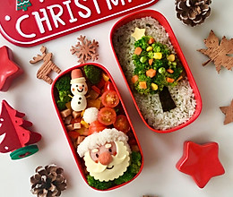 专属圣诞节的爱心便当,送给你最爱的人#今天吃什么#的做法