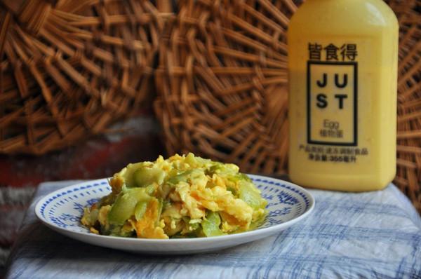 植物蛋炒半生瓜