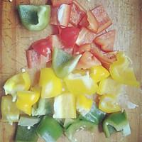 彩色鸡肉烤串的做法图解4
