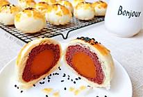 #全电厨王料理挑战赛热力开战!#私房爆款-酥得掉渣的蛋黄酥的做法