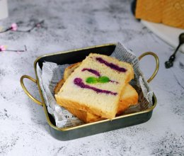 紫薯吐司面包的做法