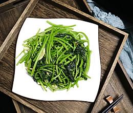 养生好菜——素炒红薯叶的做法