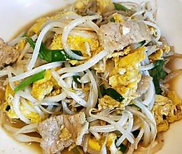 家常小炒菜(豆芽,韭菜,鸡蛋)的做法