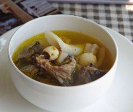 健脾胃-四神鸡汤的做法