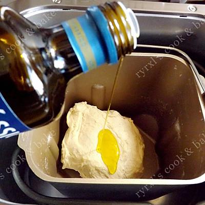 橄露Gallo经典特级初榨橄榄油试用之一 ——燕麦面包的做法 步骤6