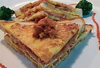 肉松火腿三明治(家常)的做法
