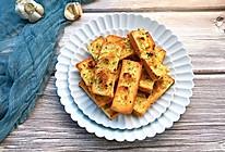 嘎嘣脆的黄油蒜香烤吐司的做法