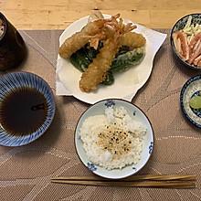 日式甜不辣餐
