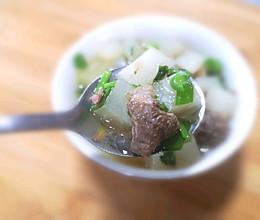 牛腩白萝卜汤牛肉汤的做法