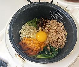 电饭锅韩式拌饭的做法