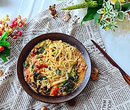 茄汁鸡蛋笋叶面-一碗面的满足的做法