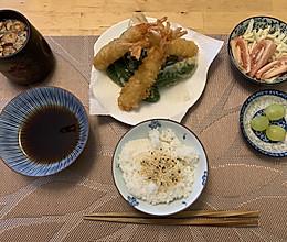日式甜不辣餐的做法