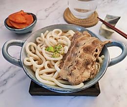 日式牛肉乌冬的做法